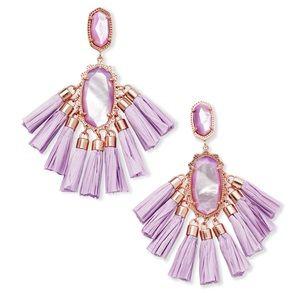 Kendra Scott Kristen earring, lilac